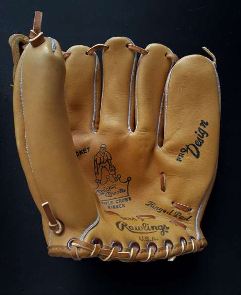 Mickey Mantle Rawlings MM9 Front
